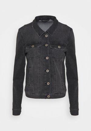 ONLDINA JACKET TALL - Giacca di jeans - black