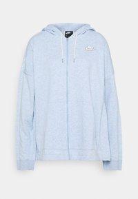 Nike Sportswear - HOODIE EARTH DAY - veste en sweat zippée - light armory blue/heater/white - 5