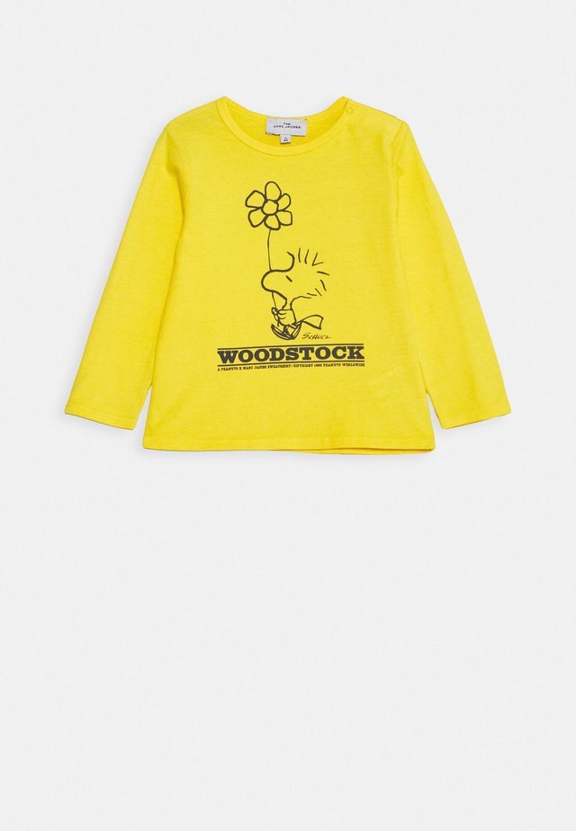 LONG SLEEVE - Long sleeved top - yellow