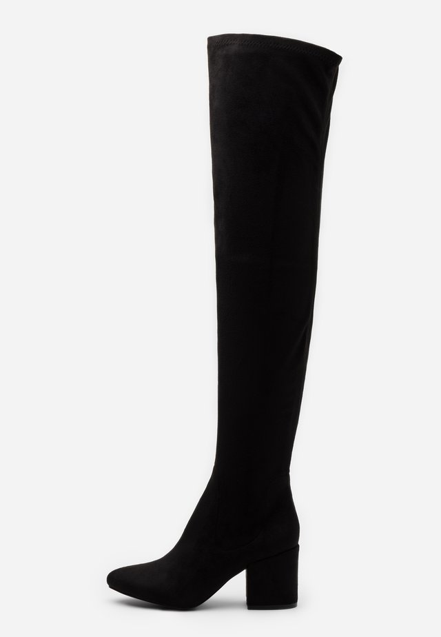 KOLA - Over-the-knee boots - black