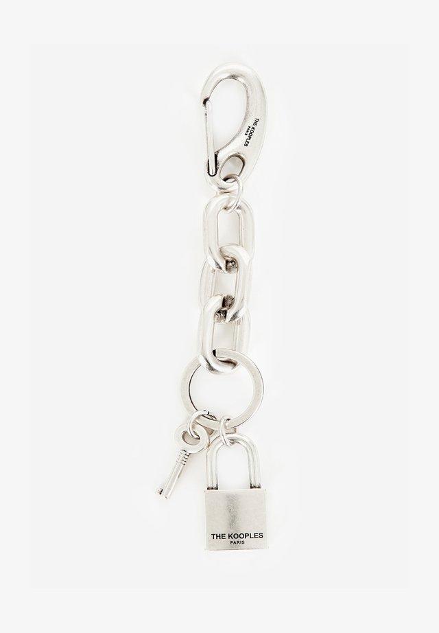 Porte-clefs - antic silver