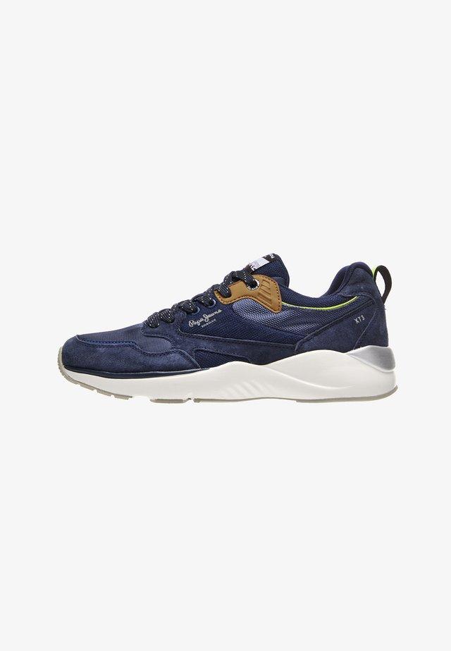 Sneakersy niskie - azul marino