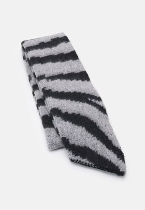 PCPYRON LONG SCARF ANIMAL BOX - Sjaal - light grey melange
