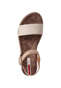 s.Oliver - Sandals - taupe - 1