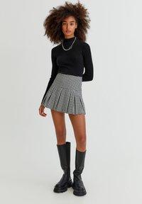 PULL&BEAR - Pullover - black - 1