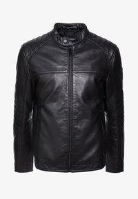 Strellson - BRIXTON - Leather jacket - black - 4