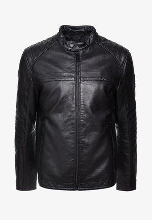 BRIXTON - Leather jacket - black