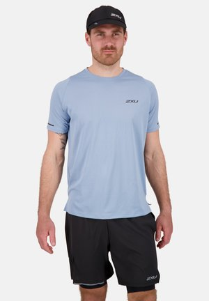 LIGHT SPEED TECH - Print T-shirt - echo/black reflective