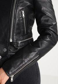 Oakwood - YOKO - Leather jacket - black - 4