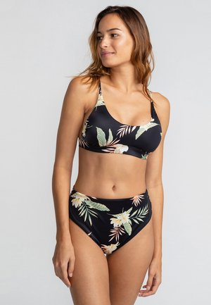 Bikini top - black pebble
