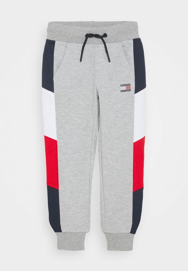 SPORT COLORBLOCK PANT - Tracksuit bottoms - grey