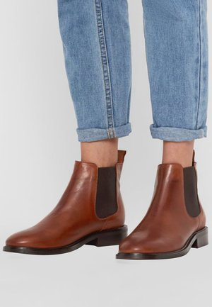 JESSICA - Classic ankle boots - cognac