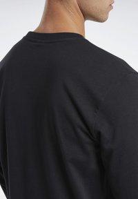 Reebok Classic - CLASSICS HOTEL LONG-SLEEVE TOP - Long sleeved top - black - 4