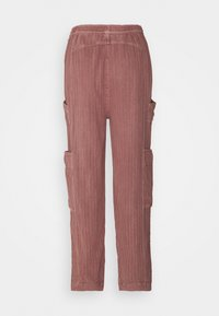 Free People - FEELIN GOOD UTILITY PULL - Trousers - mauve - 1