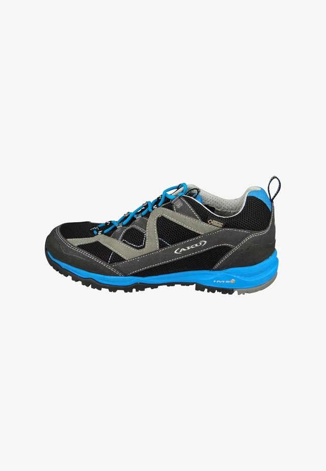 MIO SURROUND GTX  - Hiking shoes - black/ blue