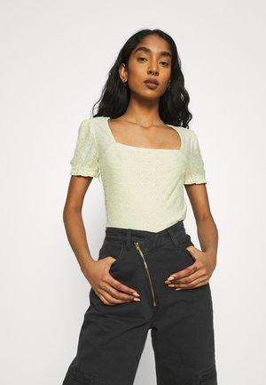 T-shirts med print - light green