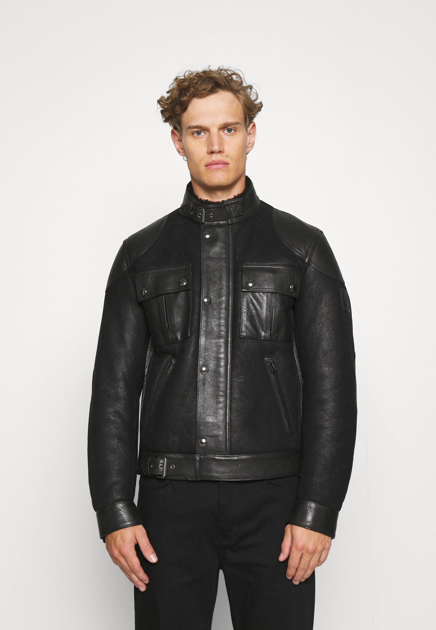 Men GANGSTER - Leather jacket