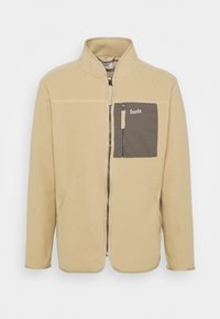 SILENCE JACKET - Giacca in pile - khaki/army
