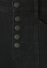 American Eagle - SUPER HI RISE DREAM - Jeans Skinny Fit - gunmetal - 2