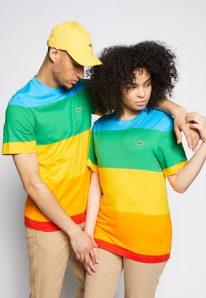 POLAROID UNISEX - T-shirt imprimé - fiji/malachite/gypsum/orpiment/corrida
