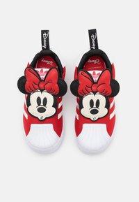 adidas Originals - SUPERSTAR 360 UNISEX - Sneaker low - vivid red/footwear white/core black - 3