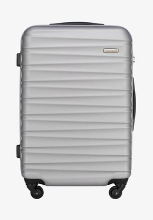 GROOVE LINE - Wheeled suitcase - grey
