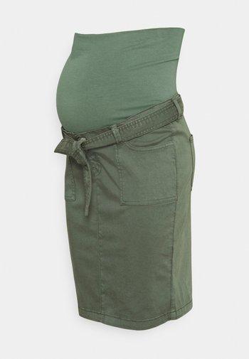 SKIRT - Spódnica jeansowa - vinyard green