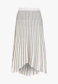 MRZ - PLEAT SKIRT - Plisovaná sukně - beige/black - 3