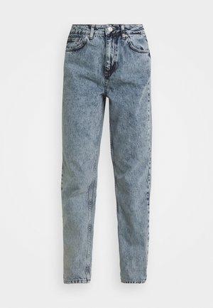 MOM - Jeans straight leg - acid wash blue