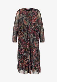 Samoon - MIT PAISLEY-PRINT - Day dress - black gemustert - 3