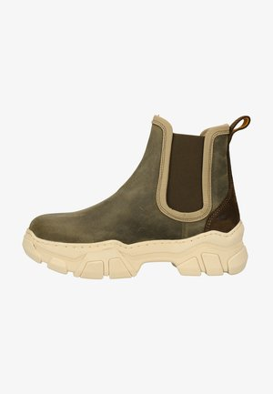 Classic ankle boots - khaki green