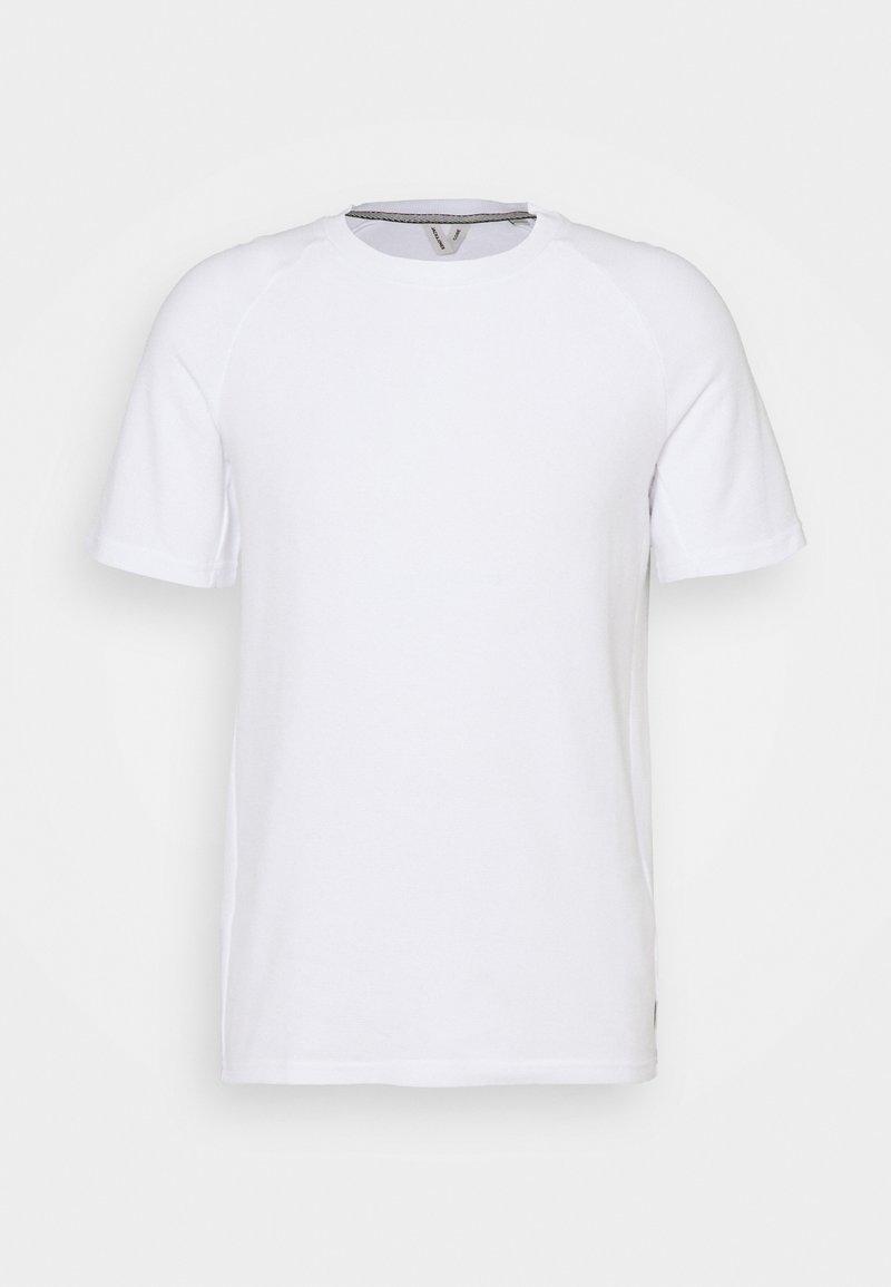 Jack & Jones - JCOPOINT TEE CREWNECK - T-shirt - bas - white