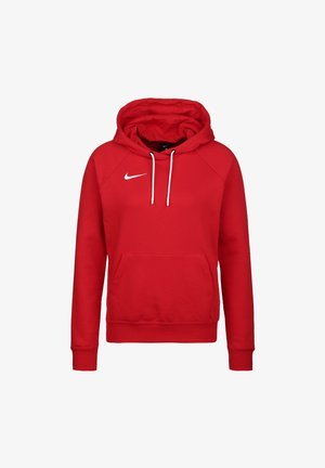 PARK  - Kapuzenpullover - university red / white