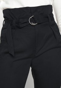Tommy Jeans - PAPERBAG - Trousers - black - 4