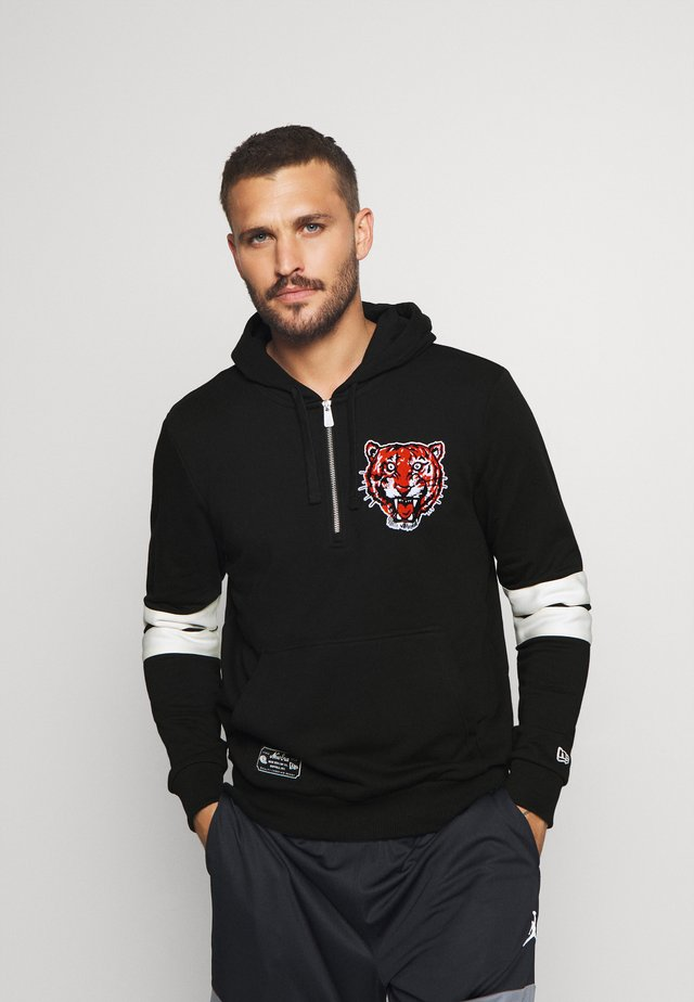 MLB DETROIT TIGERSCOOPERSTOWN HOODY - Article de supporter - black