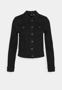 Vero Moda Petite - VMHOT SOYA JACKET - Denim jacket - black - 4