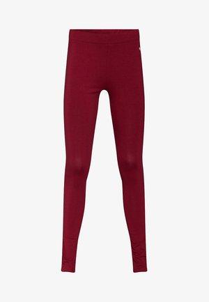 MEISJES SKINNY FIT - Legging - burgundy red