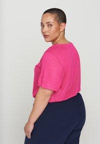 Zizzi - Basic T-shirt - pink - 2