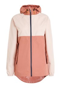 Next - COLOURBLOCK SHOWER RESISTANT RAIN - Waterproof jacket - pink - 0