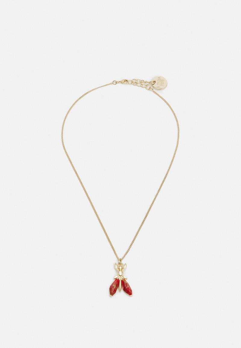 Patrizia Pepe - COLLANA PRECIOUS FLY MINI - Ketting - marble red