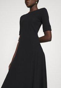 Lauren Ralph Lauren - MUNZIE ELBOW SLEEVE CASUAL DRESS - Jersey dress - black - 3