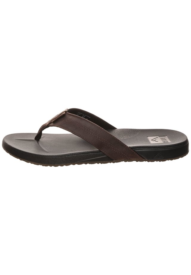Teenslippers - black/brown