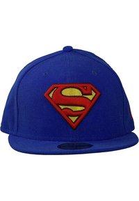 New Era - 59FIFTY - CHARACTER BASIC SUPERMAN - Cap - blau - 1