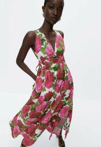 Uterqüe - Day dress - pink - 0