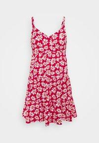 Hollister Co. - BARE DRESS - Robe en jersey - red daisy - 4