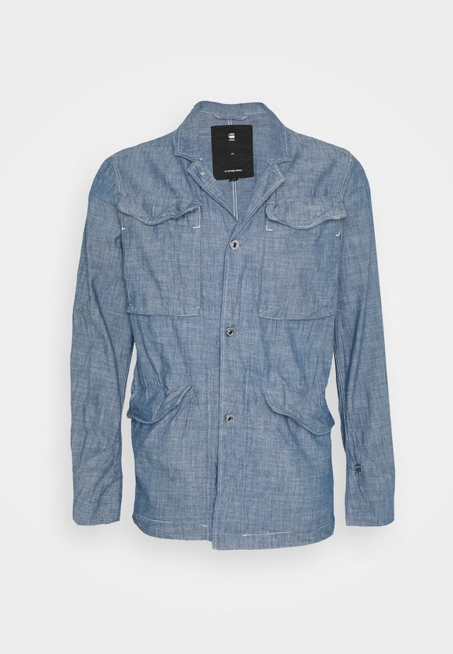 VODAN WORKER BLAZER - Blazer - lt wt blue lockstart chambray - rinsed
