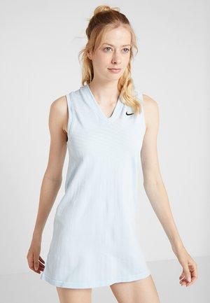 MARIA DRESS  - Sportovní šaty - topaz mist/black