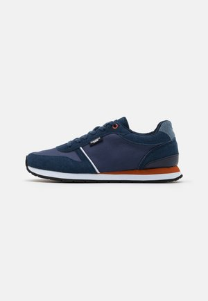 YORK EYELET TRAINER - Trainers - navy