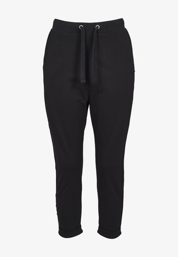 LADIES OPEN EDGE TERRY TURN UP PANTS