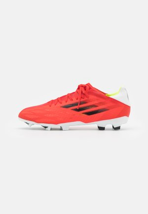 X SPEEDFLOW.3 FG - Moulded stud football boots - red/core black/solar red